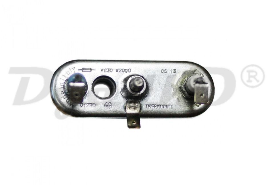 Нагревательный элемент (ТЭН) для стиральной машины Bosch (Бош), Siemens (Сименс) 2000W 3406115